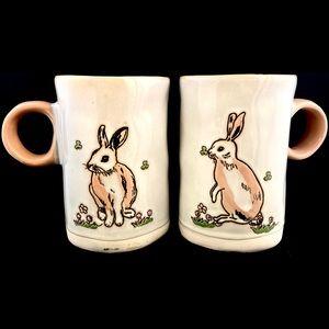 i 🖤 it 2018 Rabbit Bunny Mug Set of 2